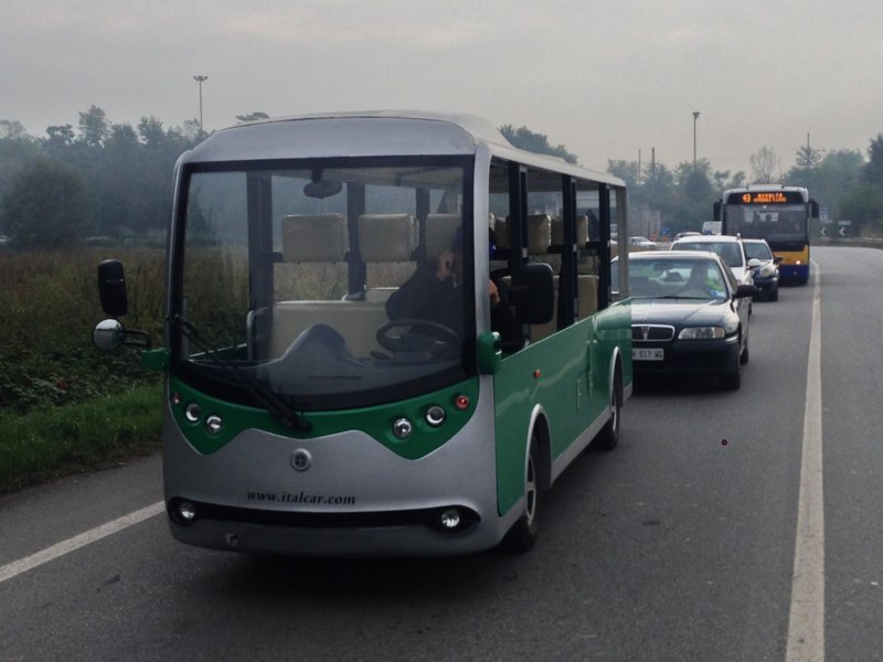 elektro shuttle bus M2 Italbus