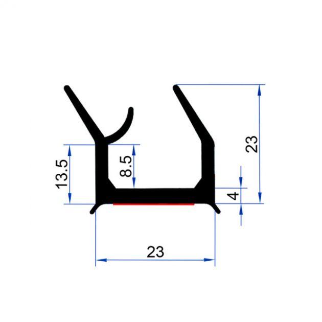 brtva kamionske rampe brtveni gumeni profil