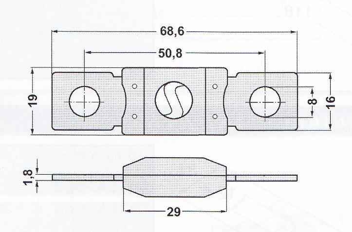 osigurač MEGA / BF2 osigurač BF1 MIDI
